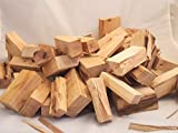 Hickory Holz 10cm Grillholz BBQ Räucherholz Smoker Chunks Chips Raucharoma (20)