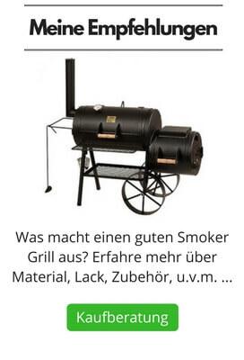 BBQ Smoker Grill Empfehlungen