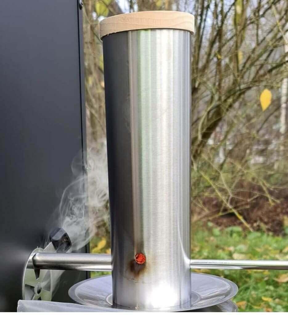 Grillpaul Kaltrauchgenerator mit Pumpe