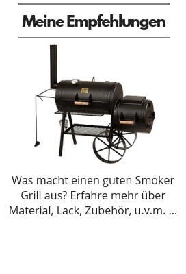 BBQ Smoker Grill Kaufberatung