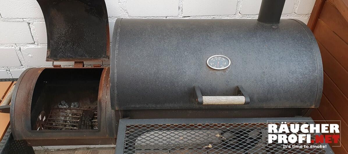 Lackierung beim BBQ Smoker