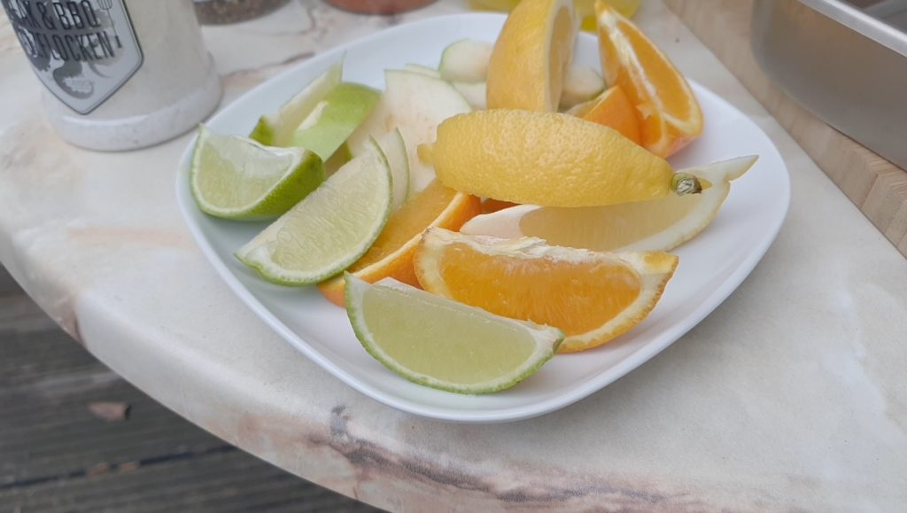 Früchte zum Befüllen