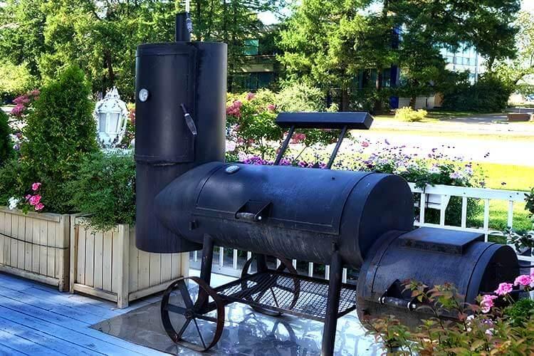 Offset-Barrel-Smoker