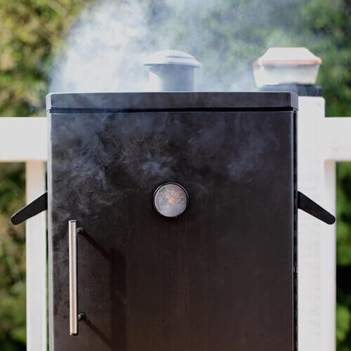 Gas-Smoker-Test