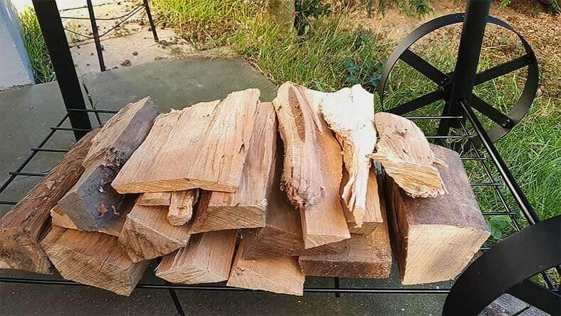 Holz-für-den-Smoker-Test